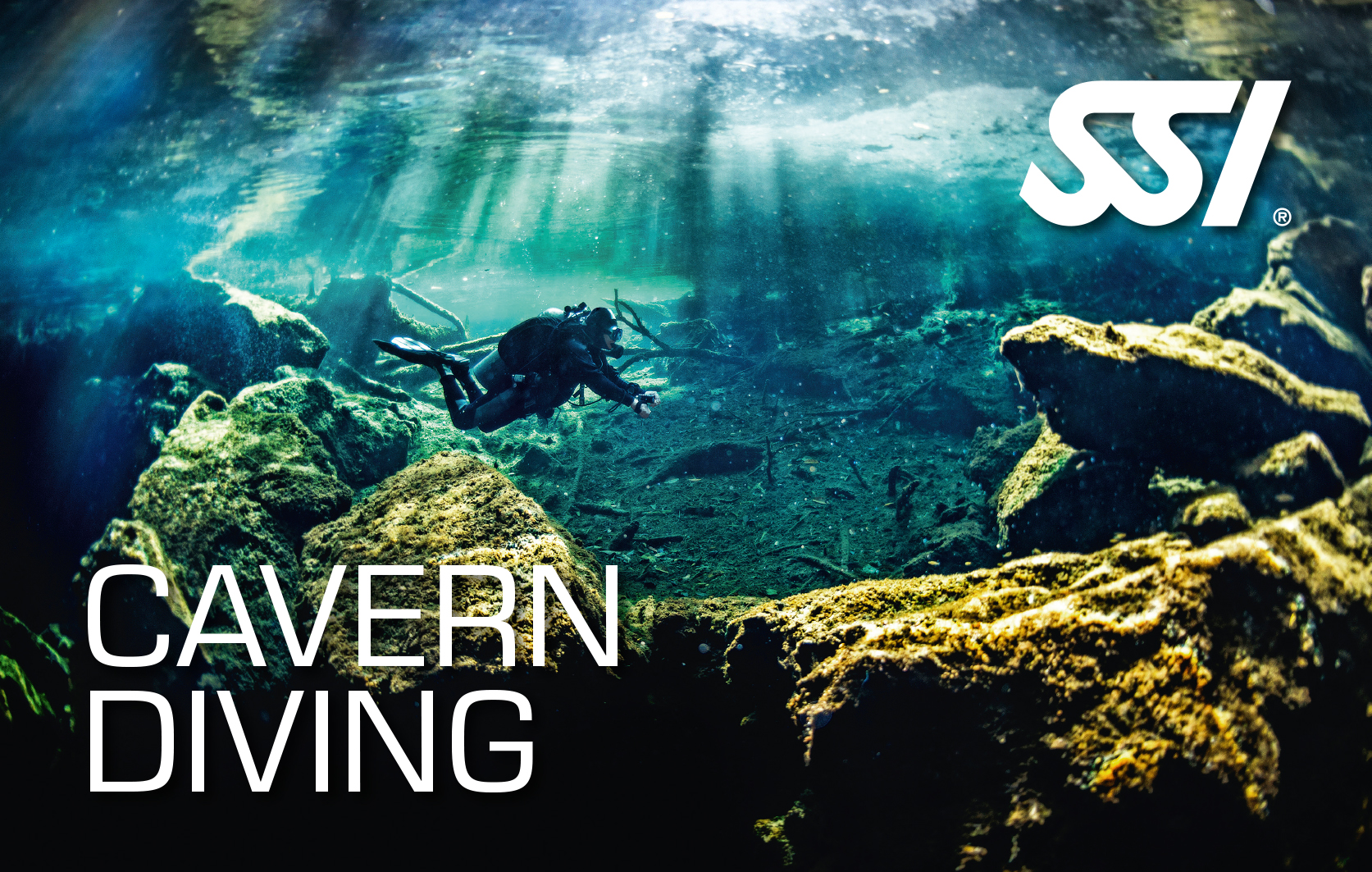 cavern-diving